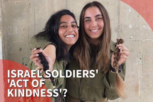 Thumbnail - Israel army twitter post slammed as 'hypocritical'