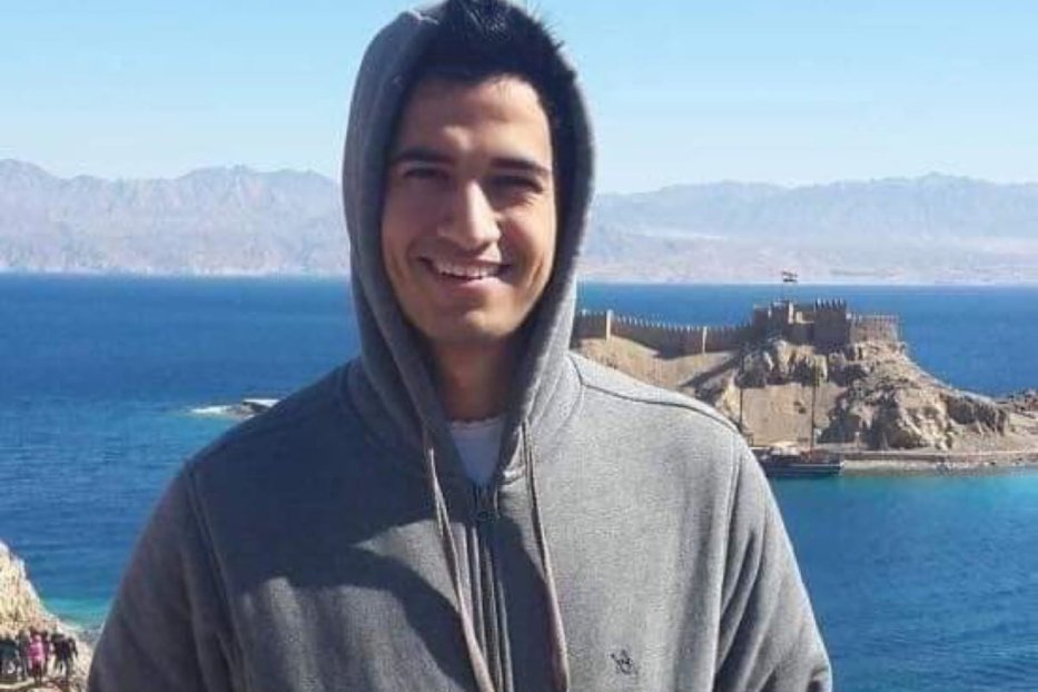 Nader Mohamed, 20, threw himself from the top of Cairo Tower [Facebook]