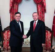 Turkish lawmakers to ratify Libya military coop deal