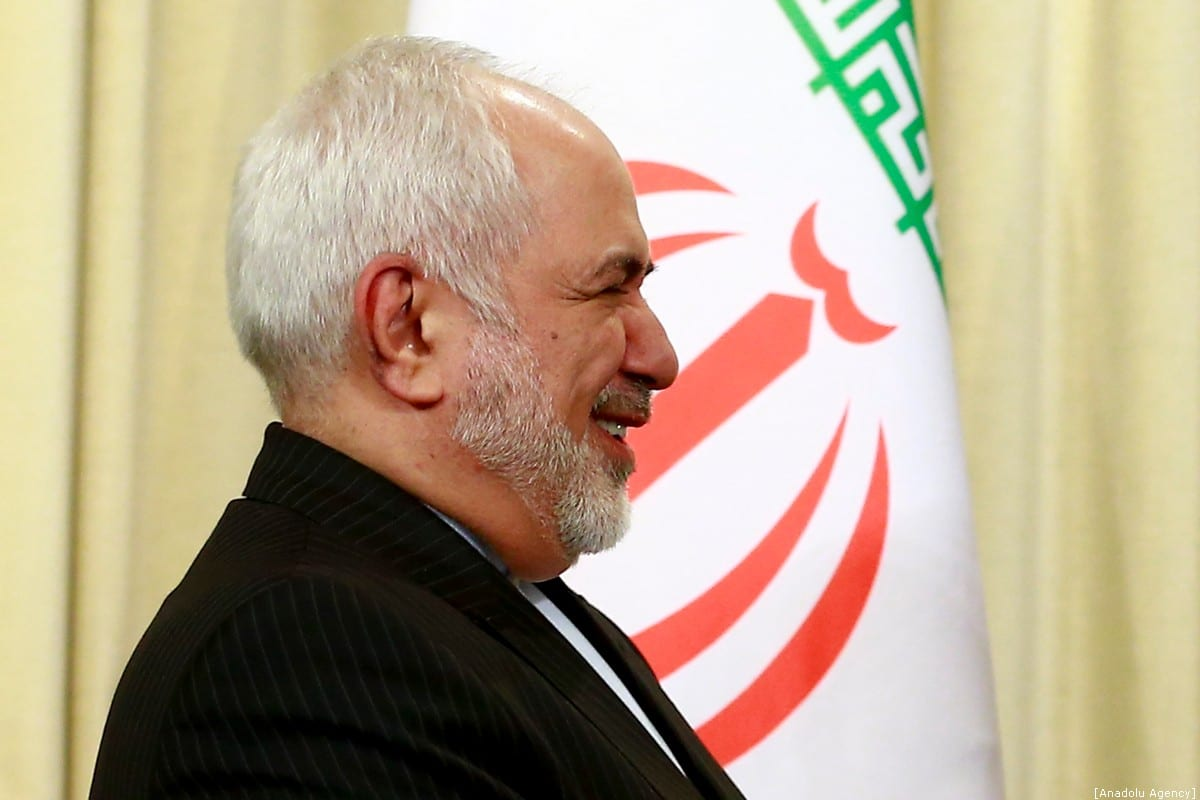 Iranian Foreign Minister Mohammad Javad Zarif in Moscow, Russia on 30 December 2019 [Sefa Karacan/Anadolu Agency]