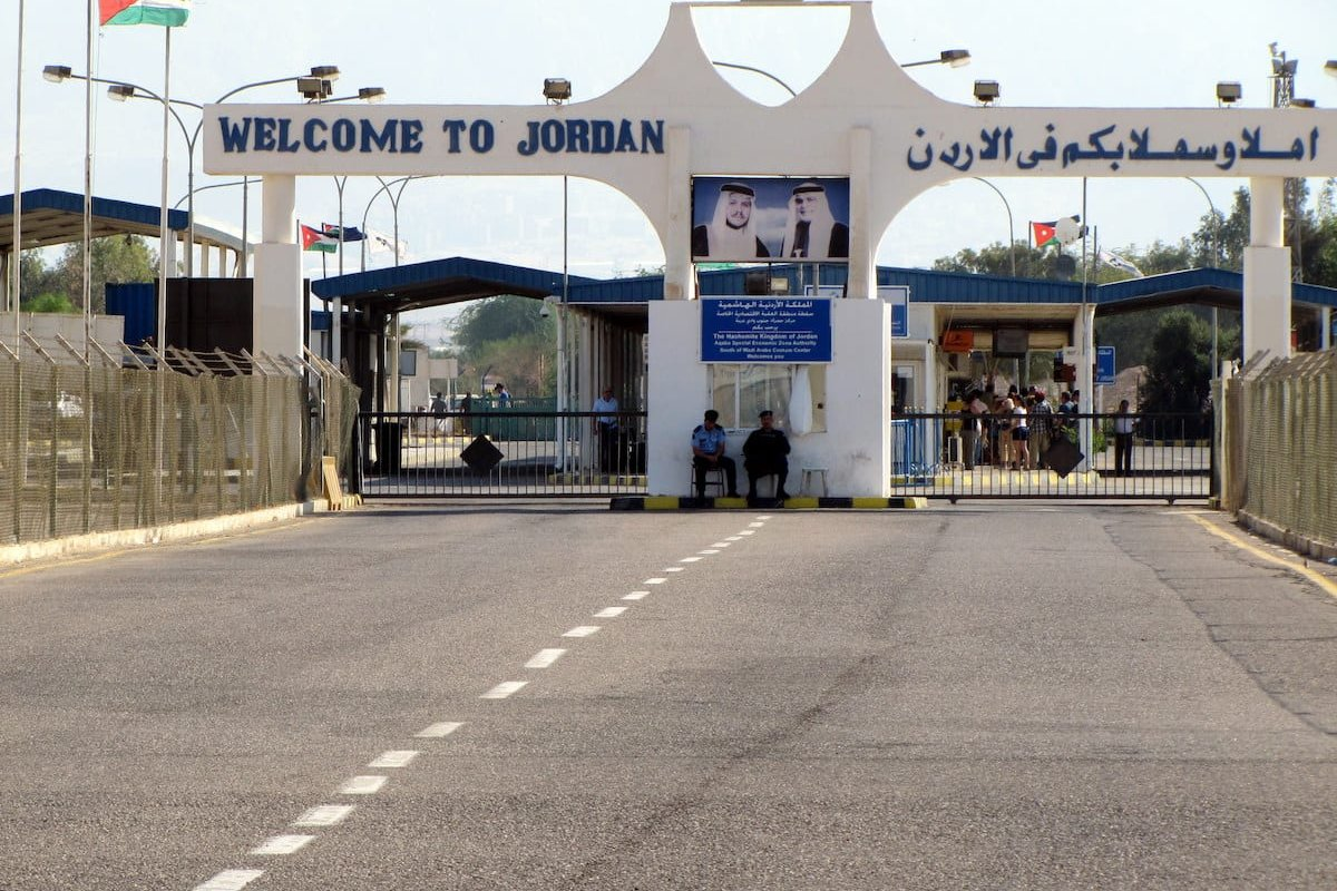 Jordan-Israel border crossing [Flickr]