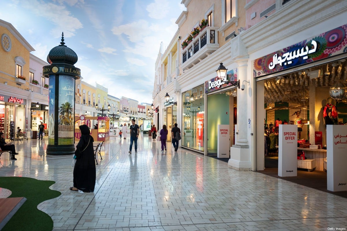 A general view of the Villaggio Mall in Doha, a shopping mall with the interior in an Italian theme located in the Aspire Zone in the west end of Doha, the capital city of Qatar in the a host venue for the Qatar 2022 FIFA World Cup on 31 March 2019 in Doha, Qatar. [Matthew Ashton - AMA - AMA/Getty Images]