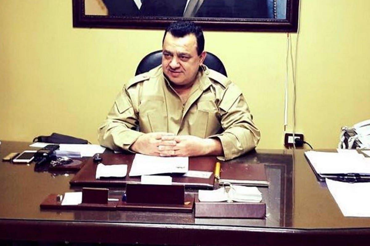 Jihad Barakat, leader of Ba'ath Commando Regiment, 2 December 2019