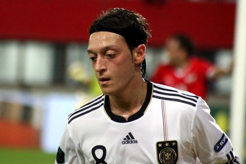 Mesut Ozil, football player [Wikipedia]