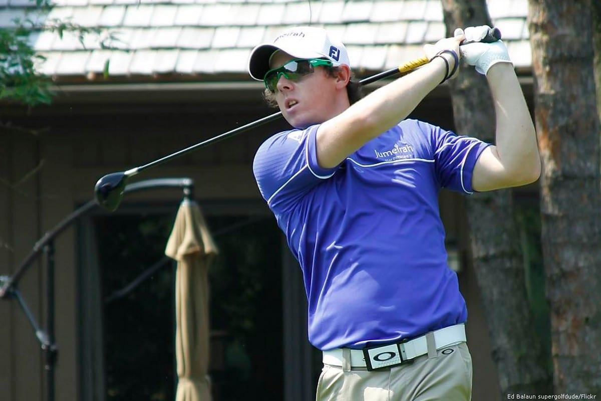 Professional golfer, Rory McIlroy