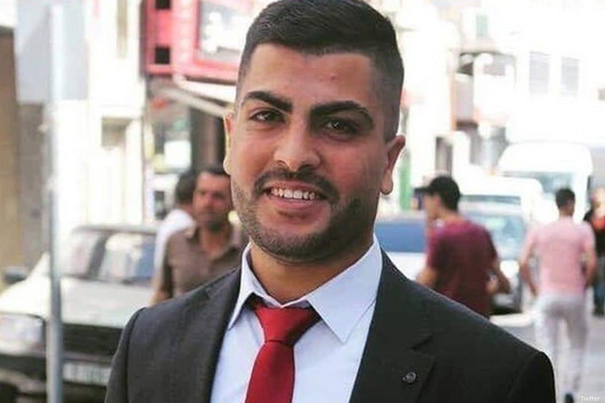Palestinian journalist Sameh Al-Titi