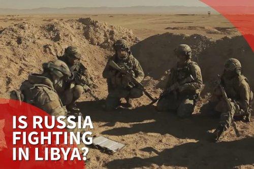 Thumbnail: Libyan officials cite evidence of Russian mercenaries supporting Haftar