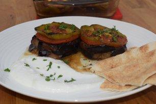 Baitenjanah ala Baitenjanah (eggplant on eggplant)