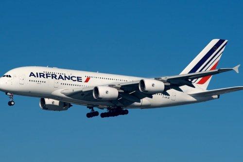 Air France plane on 23 November 2012 [Wikipedia]