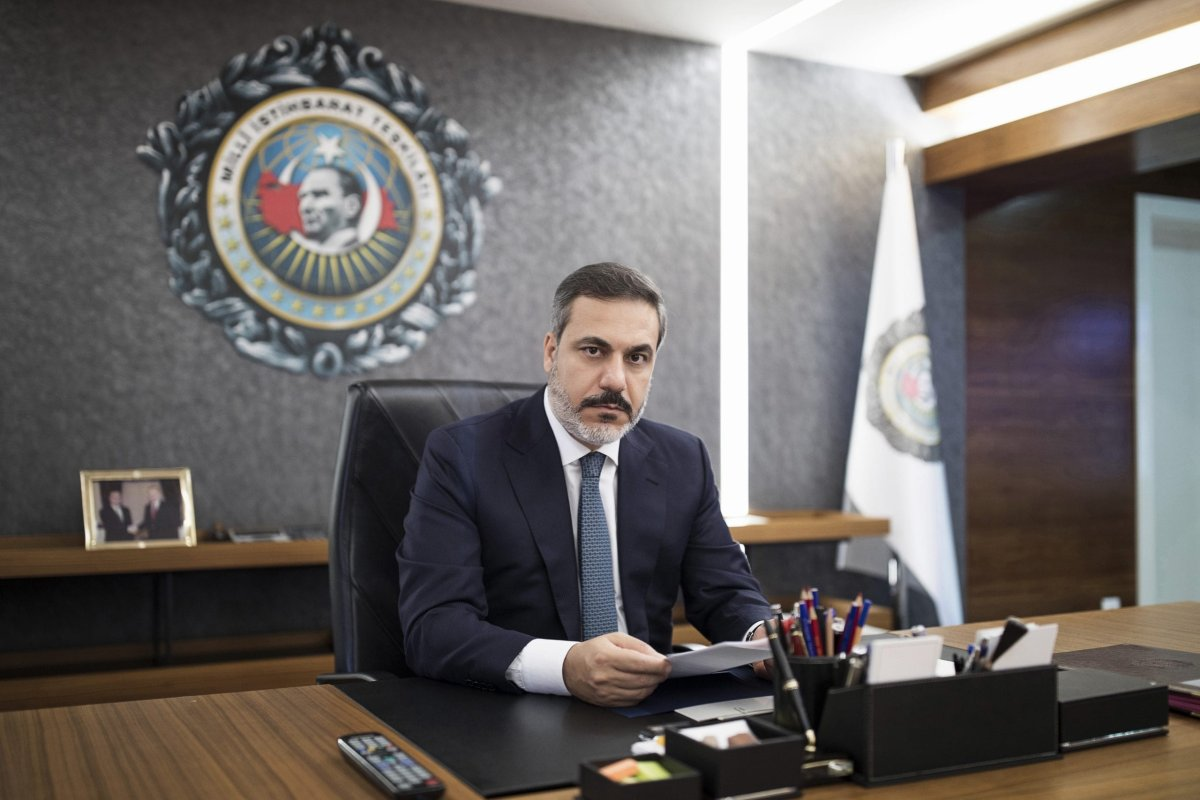 Head of the Turkish Intelligence Organisation Hakan Fidan is seen in Ankara, Turkey [Ahmet Sel/Anadolu Agency]