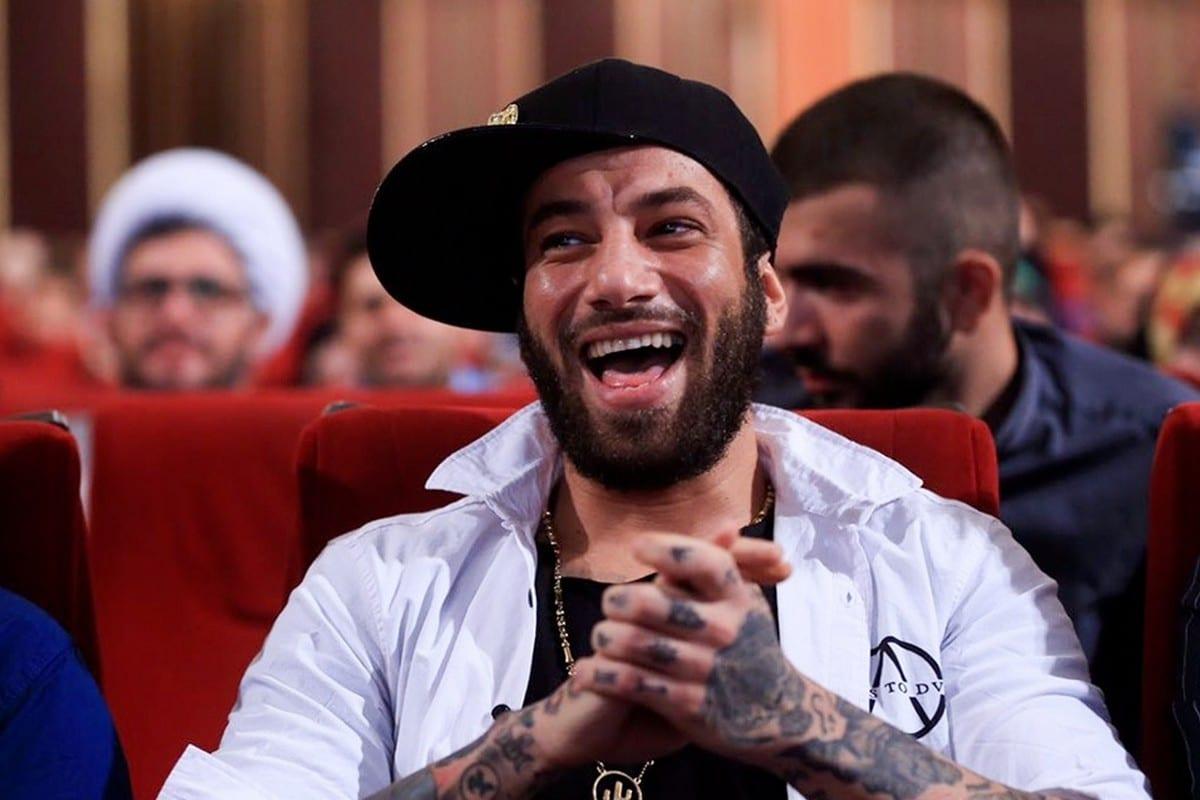 Iranian rapper Amir Tataloo on 16 July 2017 [Hossein Velayati/Wikipedia]