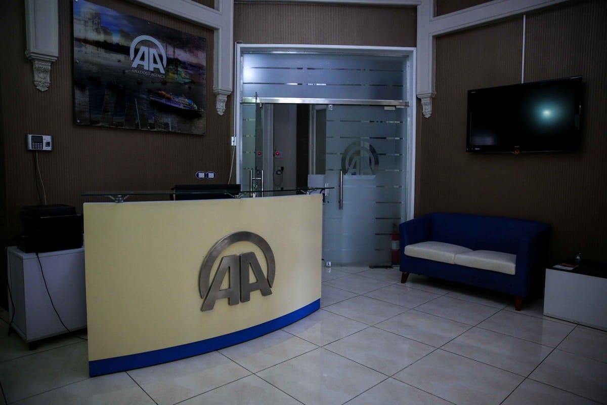 Anadolu Agency office in Cairo in Egypt in 23 June 2016 [Stringer/Anadolu Agency]