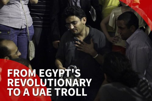Thumbnail - Former Egyptian revolutionary, Wael Ghonim, now UAE agent?