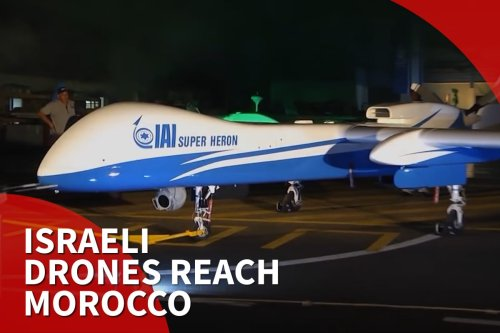 Thumbnail - Israel drones reach Morocco