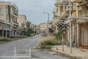 A view of abandoned buildings in Maras (or Varosha in Greek), Turkish Republic of Northern Cyprus (TRNC) on February 15, 2020 [Muhammet Fatih Oğraş / Anadolu Agency]