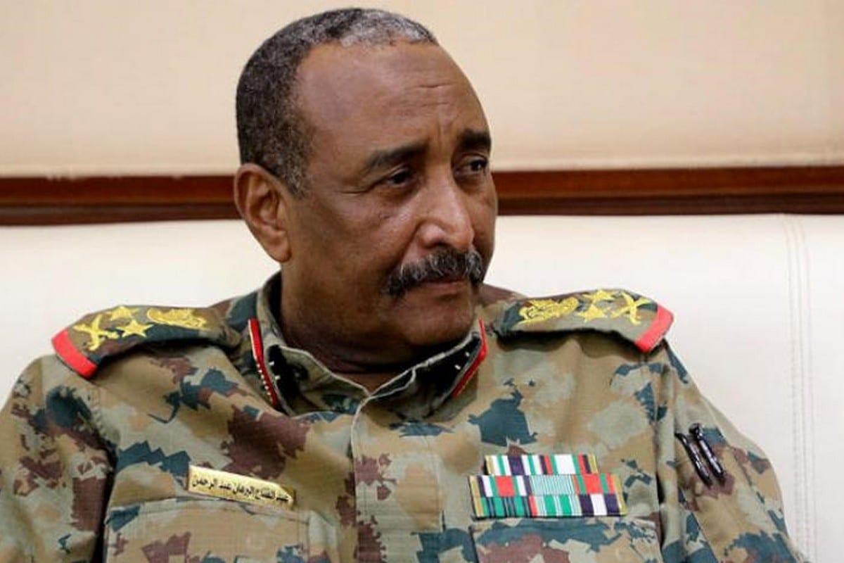 Sudanese leader General Abdel Fattah Al-Burhan, 5 February 2020