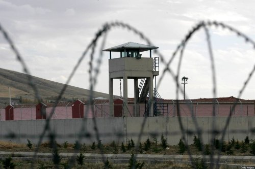 The outside building of a prison on 2 November 2012 [ADEM ALTAN/AFP/Getty Images]