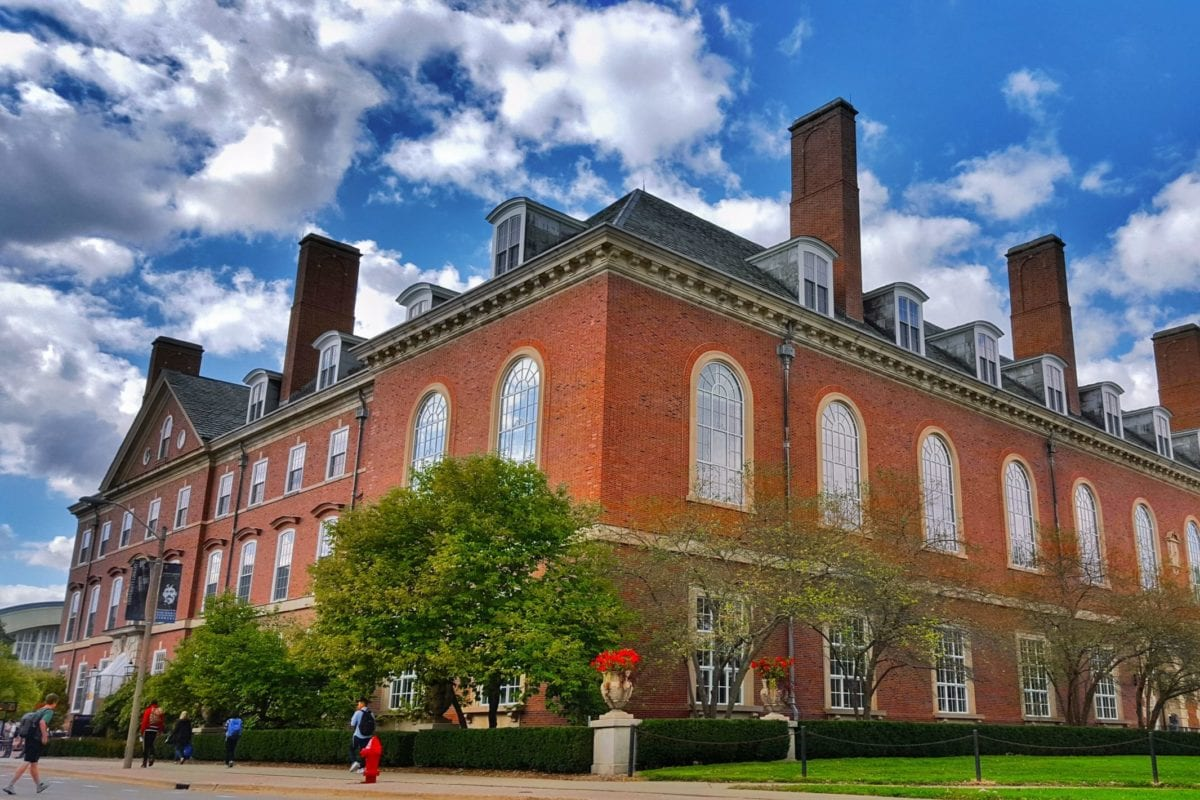 The main library building at the University of Illinois at Urbana-Champaign, as seen on September 29, 2016 [Killivalavan Solai / Wikimedia]