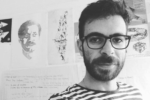 Hafez Omar, a Palestinian artist who was arrested by Israeli forces in March 2019 [Twitter]