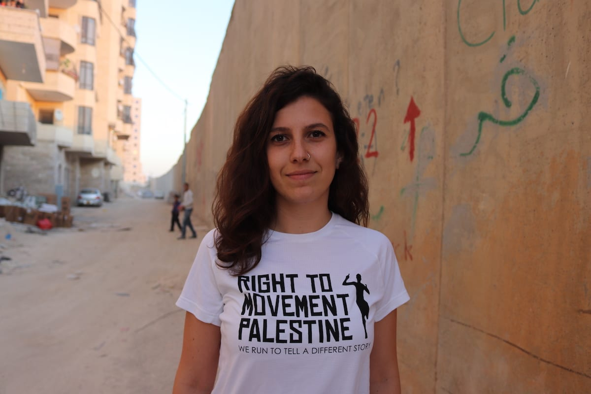 Diala Isid, the head of the Right to Movement campaign.