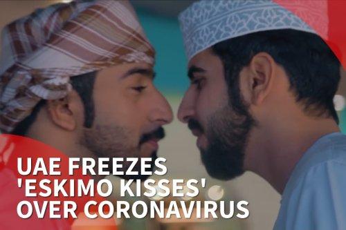 thumbnail -UAE freezes 'Eskimo kisses' over coronavirus