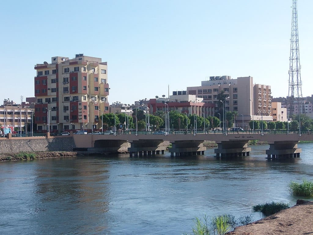 January 25th Bridge, on 15 August 2013, in Asyut, Egypt [WIkimedia]