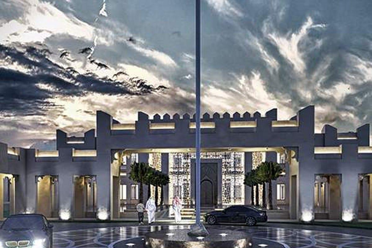 Qatar is building a new embassy in Mogadishu, Somalia, 26 March 2020 [Abdirahman Ahmed/Twitter]