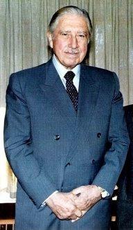 Former Chilean dictator, Augusto Pinochet [Wikipedia]
