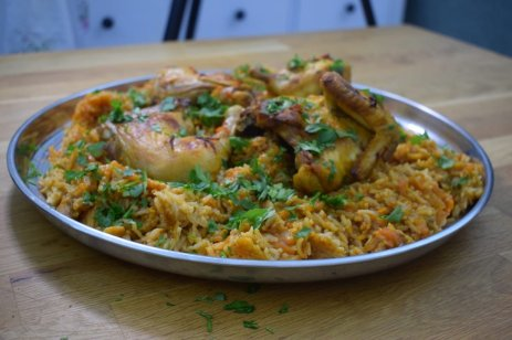 Bukhari rice and chickenDSC_0059
