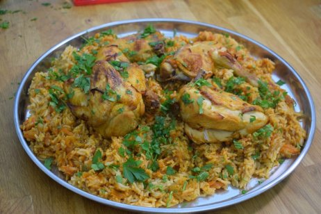 Bukhari rice and chickenDSC_0060