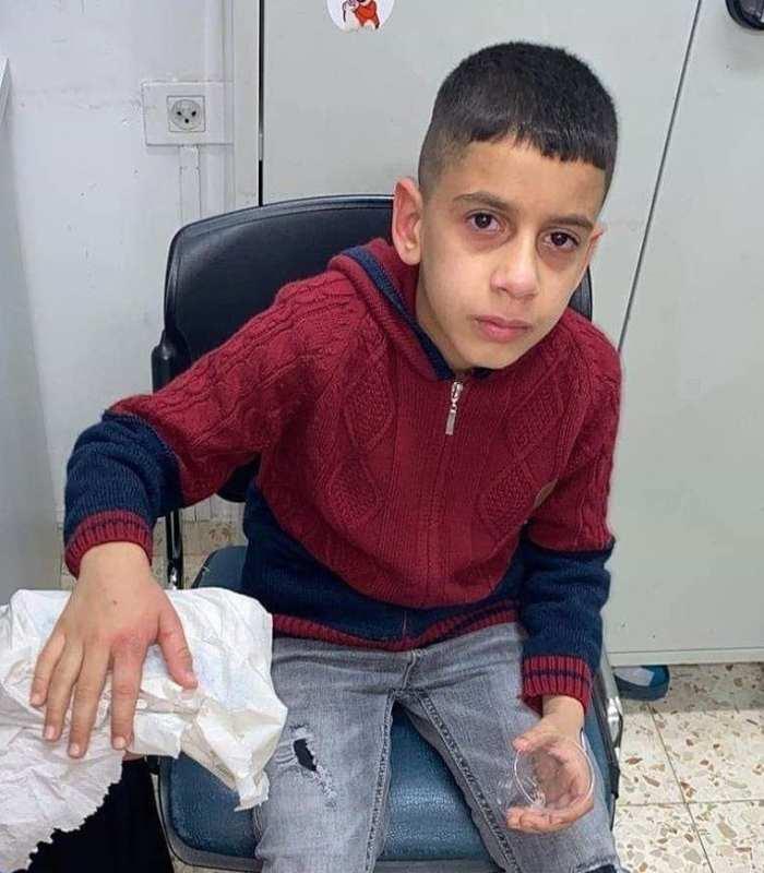 L'enfant palestinien Mohamed Atia a été abattu par les forces israéliennes alors qu'il se tenait dans sa cour d'école