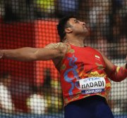 Iran Olympic medallist Hadadi has coronavirus