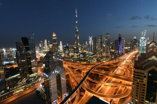 A picture taken on March 15, 2020, shows a general view of Dubai, UAE [KARIM SAHIB/AFP via Getty Images]