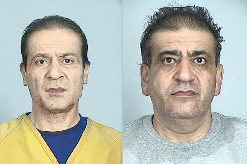 Issam Hamade (L) is facing the charges alongside his brother, Usama Hamad for conspiracy to violate US export laws by sending drone equipment to Hezbollah, 11 March 2020 [Twitter]