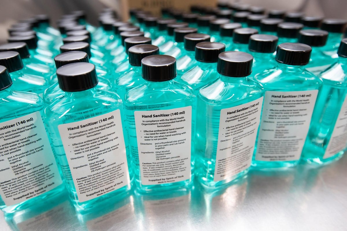 Saudi Arabia Arrests Two Men For Drinking Disinfectant As