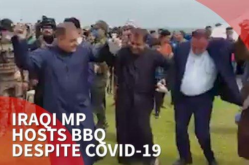 Thumbnail - Iraq MP hosts BBQ despite COVID-19