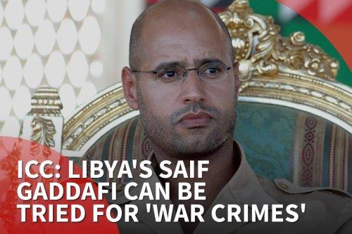 thumbnail - ICC: Libya's Saif Gaddafi can be tried for 'war crimes'