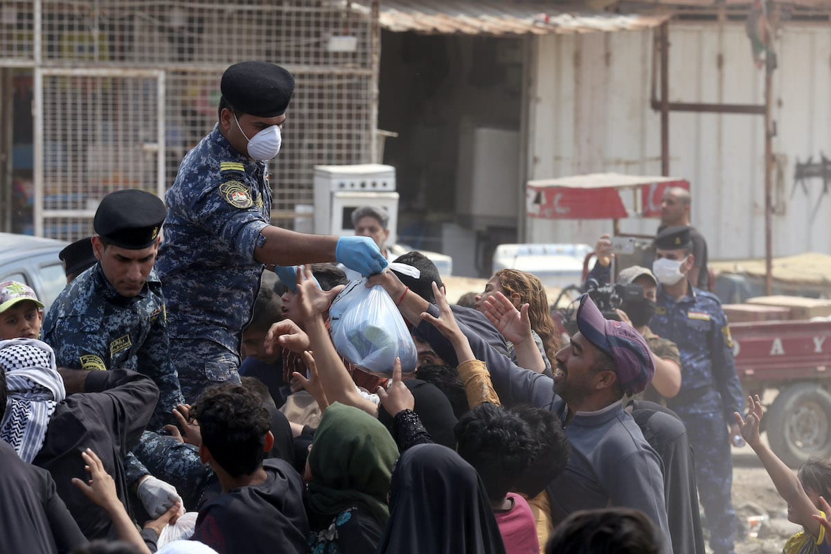 Iraq reports highest single-day spike in virus cases
