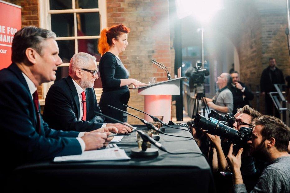 Keir Starmer and Jeremy Corbyn on 6 December 2019 [Flickr]