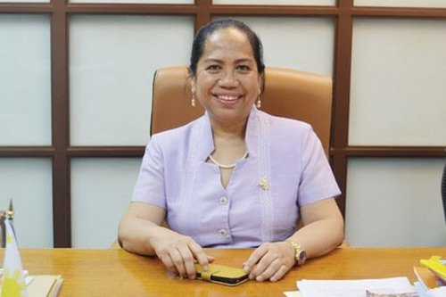 Philippines Ambassador to Lebanon Bernardita Catalla, died from coronavirus in Beirut, Lebanon on 2 April 2020 [Aniqa Nisar/Twitter]