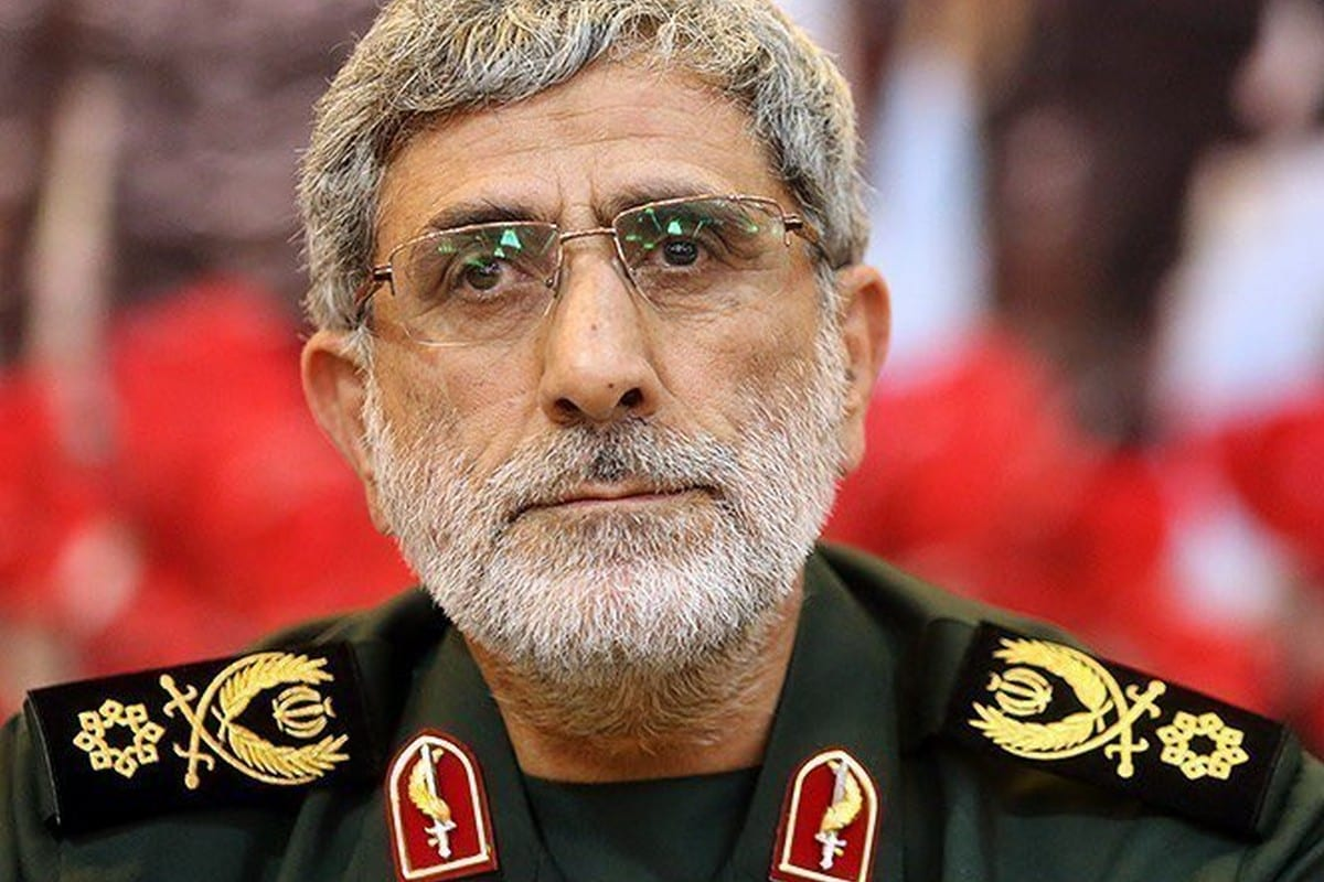 The Commander of Iran's Quds Force Esmail Ghaani, 30 March 2020 [Twitter]