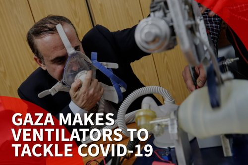thumbnail - Gaza makes ventilators to fight coronavirus