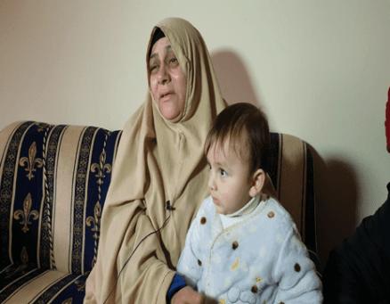 Palestinian Muhammad Al-Na'im's mother [Hasan Eslayeh]