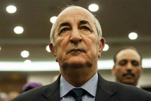 Abdelmadjid Tebboune, Algerian president, 13 December 2019 [Faisal/Twitter]