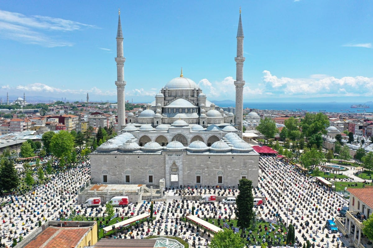 Friday prayers held in Turkey for the first time since virus ...