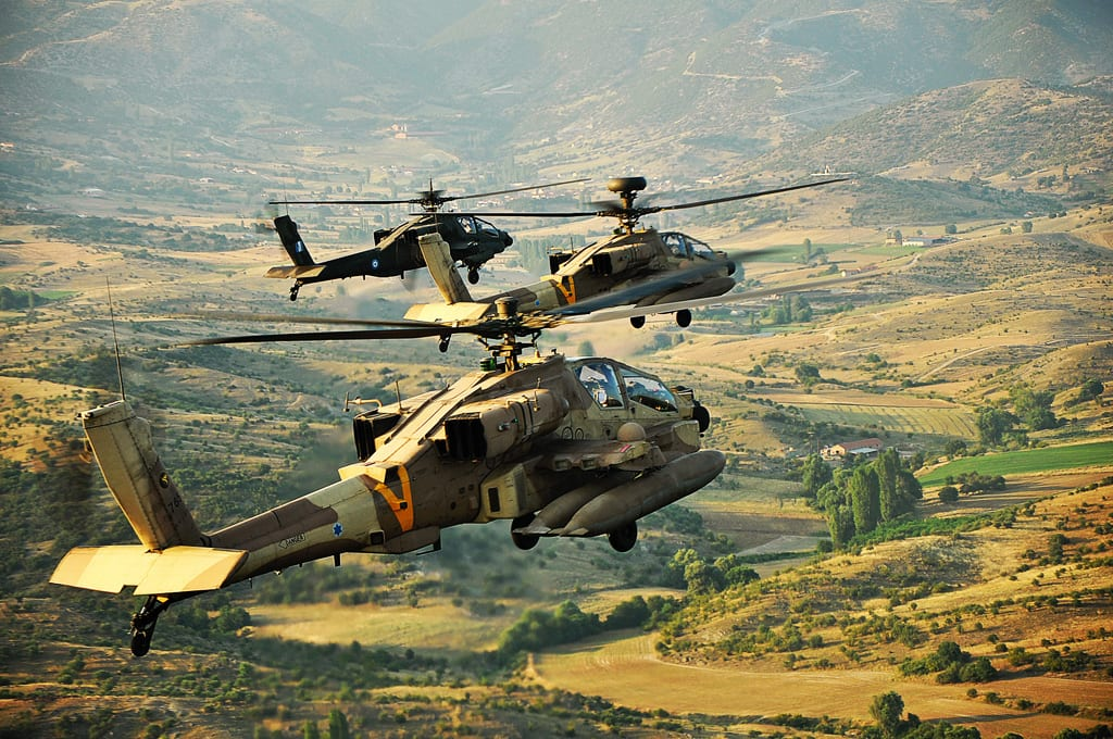Apache helicopters of the Israeli Air Forces [Wikipedia]