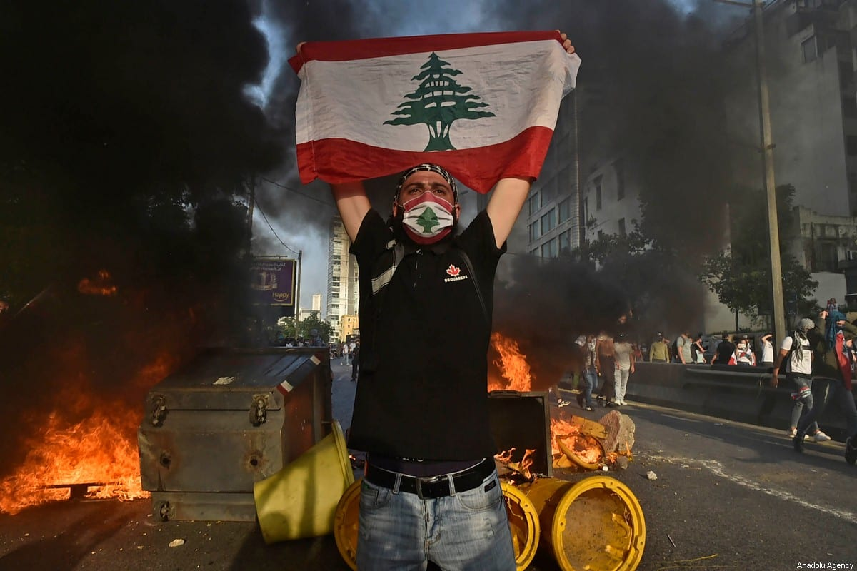 Clashes, tear gas in Beirut as protests turn to riots