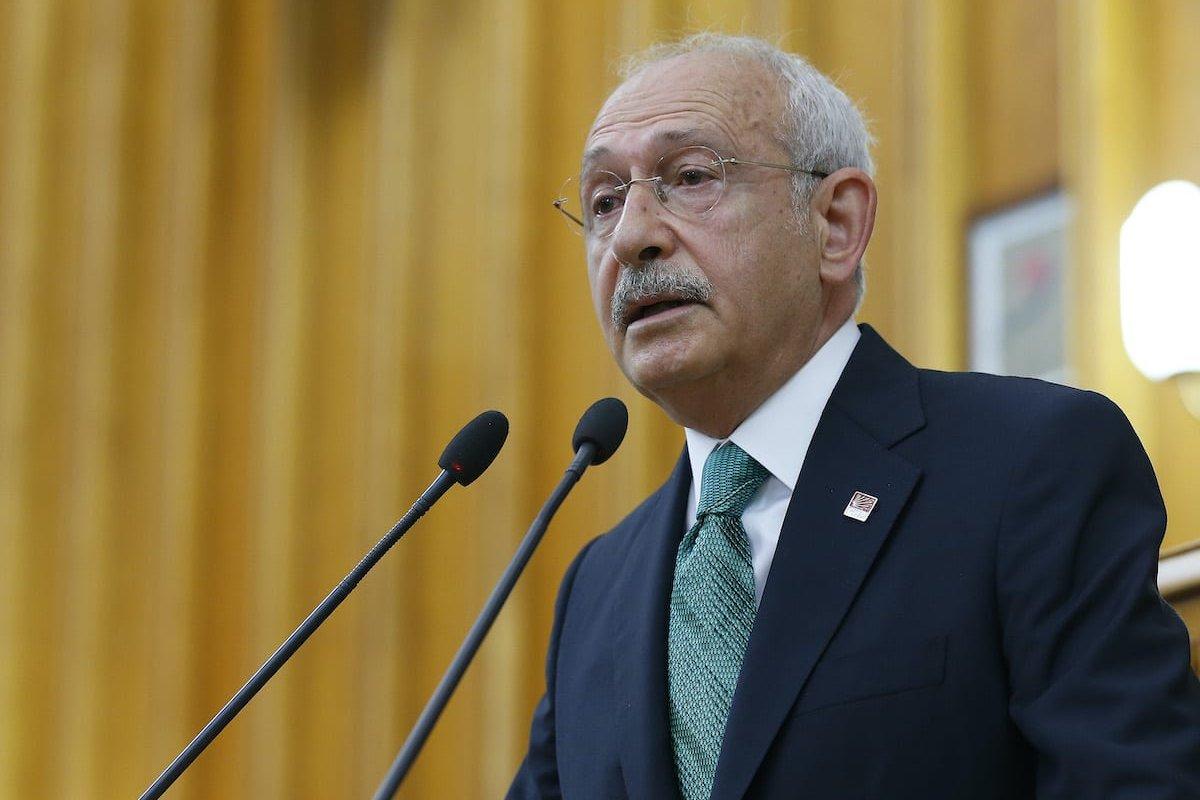 Chairman of the Republican People's Party (CHP), Kemal Kilicdaroglu in Ankara, Turkey on 16 June 2020 [Mehmet Ali Özcan/Anadolu Agency]