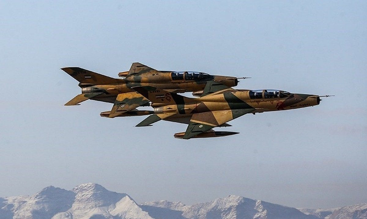 Iranian military fighter jet s, 26 January 2019 [Foad/Ashtari/Wikipedia]