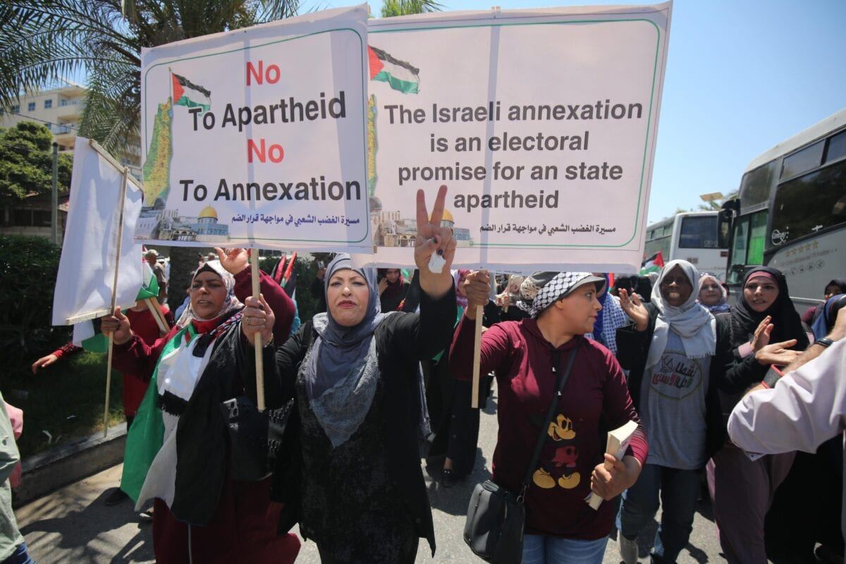 Major West Bank annexation move not imminent: Israeli minister